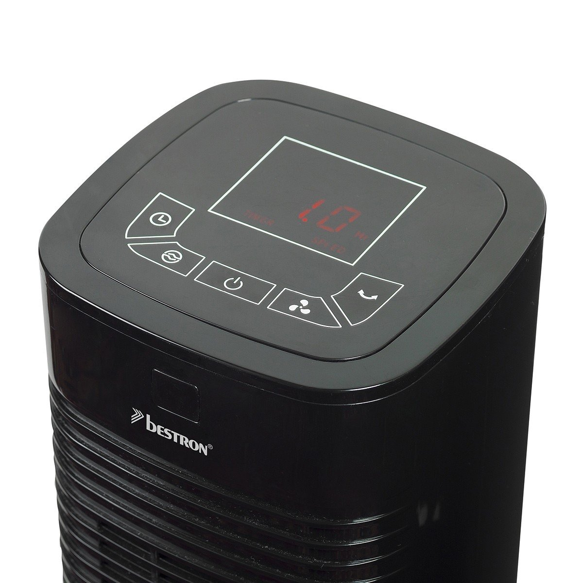 Ongebruikt Bestron Compact Tower Fan With Remote Control and Digital Timer ZR-02