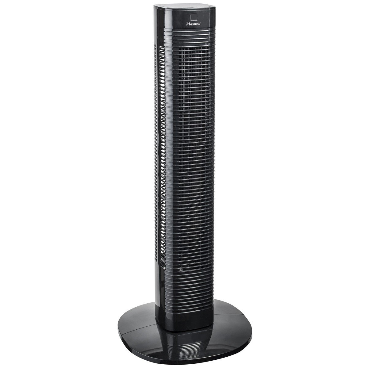 Verwonderend Bestron Compact Tower Fan With Remote Control and Digital Timer HQ-61